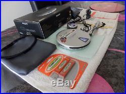 Sony D-EJ01 CD Walkman Special 20th Anniversary Edition D-E01 Discman Rare