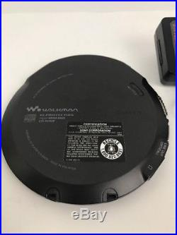 Sony D-EJ2000 Ultra Slim CD Walkman Portable CD Player Used Works Great