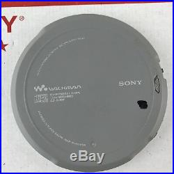 Sony D-EJ700 CD Player Discman CD Walkman Portable Player RARE
