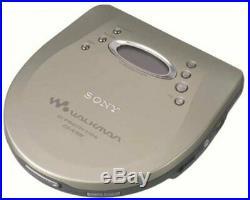Sony D-EJ835 Silver CD Walkman Portable CD Player