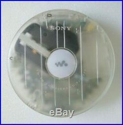 Sony D-FJ003FP Portable CD Player Walkman Discman Clear Personal Federal Prison