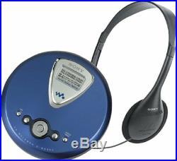 Sony D-NE300 ATRAC Walkman Portable CD Player (Blue) NEW