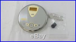 Sony D-NE300 Psyc ATRAC Walkman Portable CD Player Gray
