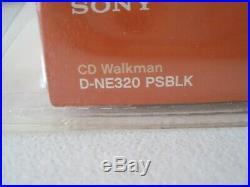 Sony D-NE320 CD Walkman Psyc Portable Atrac3 / MP3 CD Player Brand New Sealed