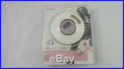 Sony D-NE320 PSYC MP3/ATRAC CD Walkman Portable CD Player Pink