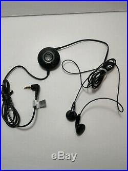 Sony D-NF340 Tested Silver Portable CD Walkman MP3 FM Radio walkman earbuds case