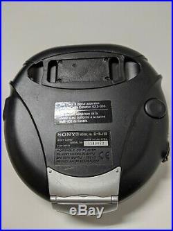 Sony D-SJ15 Discman Portable Sports CD Walkman Player G-protection