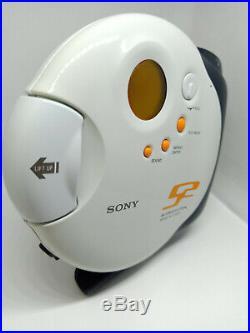 Sony D-SJ301 S2 Sports CD Walkman Discman Portable Compact Disc Stereo Player