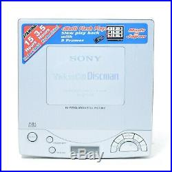Sony D-V7000 Discman Portable CD VCD Player, Made in Japan PAL+NTSC Working AUS