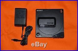 Sony D25 Discman Portable CD Player Digital working 1989
