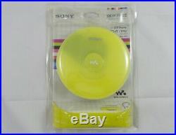 Sony DEJ001 CD Walkman Portable Compact Disc Player Green (D-EJ001/G)