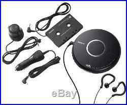 Sony DEJ017CK Walkman Portable CD Player with Car Accessories