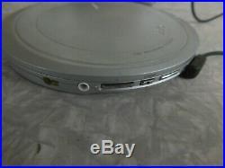 Sony DEJ1000 Silver CD Walkman Portable CD Player (D-EJ1000)