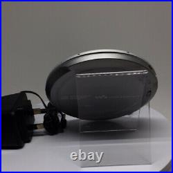 Sony DEJ955 Silver CD Walkman Portable CD Player Silver (D-EJ955/S)