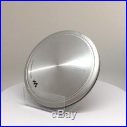 Sony DEJ955 Silver CD Walkman Portable CD Player Silver VGC (D-EJ955/S)