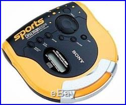 Sony DES51 Sport Discman Portable CD Walkman Player Yellow (D-ES51)