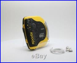 Sony DES51 Sport Discman Portable CD Walkman Player Yellow (D-ES51) (pp)