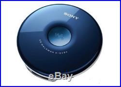 Sony DNE005 CD Walkman with MP3 Playback Blue (D-NE005/L)