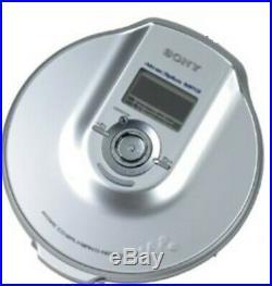 Sony DNE900 ATRAC/MP3 Walkman Personal Portable CD Player Silver (D-NE900/S)