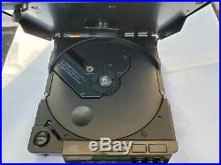 Sony DZ555 discman vintage compact disc player