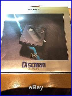 Sony Discman CD player D-88
