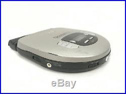 Sony Discman D-375 Portable CD Player AVLS ESP Digital Out + EBP-20 Battery Pack