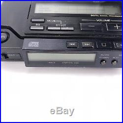 Sony Discman D-555 CD Player Vintage Good Condition with Battery Case AS IS
