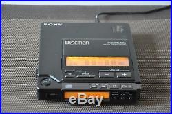 Sony Discman D 555! Condizioni Perfette 10/10! Garanzia 3 Mesi! Top Vintage