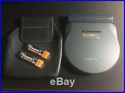 Sony Discman D-777 CD Player Read