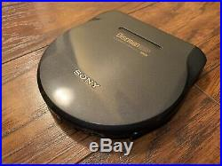 Sony Discman D-777 portable ESP CD Player Complete Set. Free US Shipping