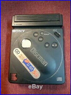 Sony Discman D-88 CD Player Pocket Discman Nice Condition UNTESTED unknown
