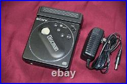 Sony Discman D-88 Personal CD Player Working