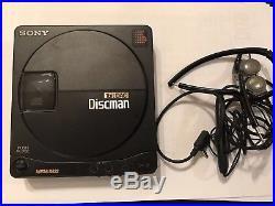 Sony Discman D-99 1bit DAC komplett
