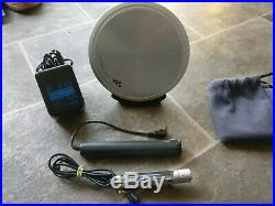 Sony Discman D-EJ955 + Remote, Charger, Stand, New Batteries