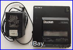 Sony Discman D-Z555 (similar to D-555) CD player, For Parts or Repair only As-is