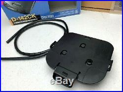 Sony Discman D142CK Portable CD Player With complete Car Kit