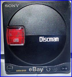 Sony Discman Disc Man D90 D-90 D 90 Walkman Walkman Portable CD Player Vintage