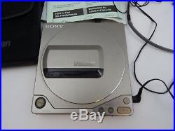 Sony Discman Portable CD Player D-250 Parts Only Read Description 1989