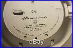 Sony Dne900 Atrac Mp3 Walkman Personal Portable CD Player Silver D-ne900