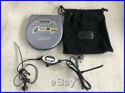 Sony Portable CD Player Walkman Discman D-EJ815 Fully Tested & Working