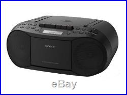 Sony Portable CD, Radio, and Cassette Player (CFD-S70BK)