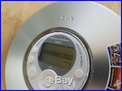 Sony Portable CD Walman D-ne319 Mp3 Atrac3plus Boxed Vgc