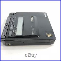 Sony Portable Discman D-555 Audiophile Works (Needs Power Cord, Not Included)