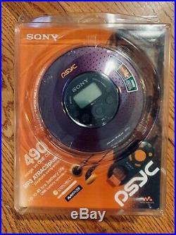 Sony Psyc D-NE320 Atrac3/MP3 CD Walkman Portable CD/MP3 player New Sealed