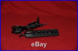 Sony RM-DM2 Wired Remote For D-15 D-25 D-25s D-88 D-555 D-303 D-35 D-9 D-90 NEW