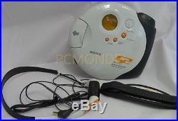 Sony Sports CD Walkman DSJ301 White (D-SJ301)