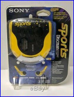 Sony Sports Discman ESP2 Compact Disc Player D-ES51 Portable CD Player