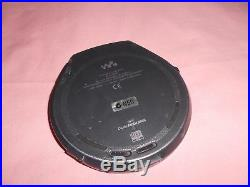 Sony Vintage D-EJ825 CD Walkman G Protection Power Supply Battery Backup Pouch