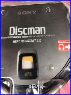 Sony Vintage Discman New Sealed D-171C