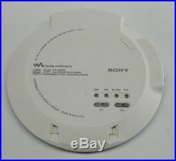 Sony WALKMAN D NE820 MP3-CD Player- With New Battery